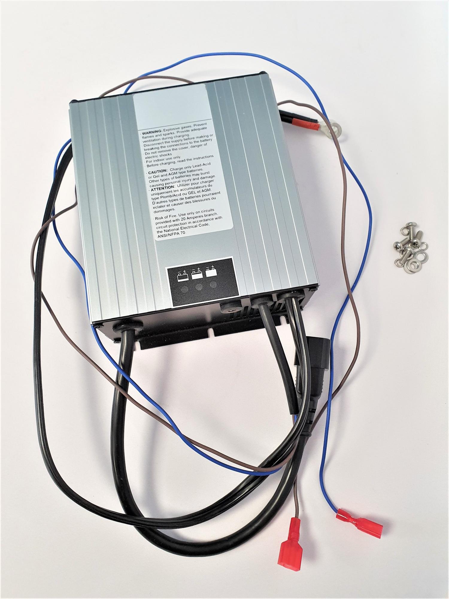 Chargeur batterie HF pour Autolaveuse TENNANT T300 / 60