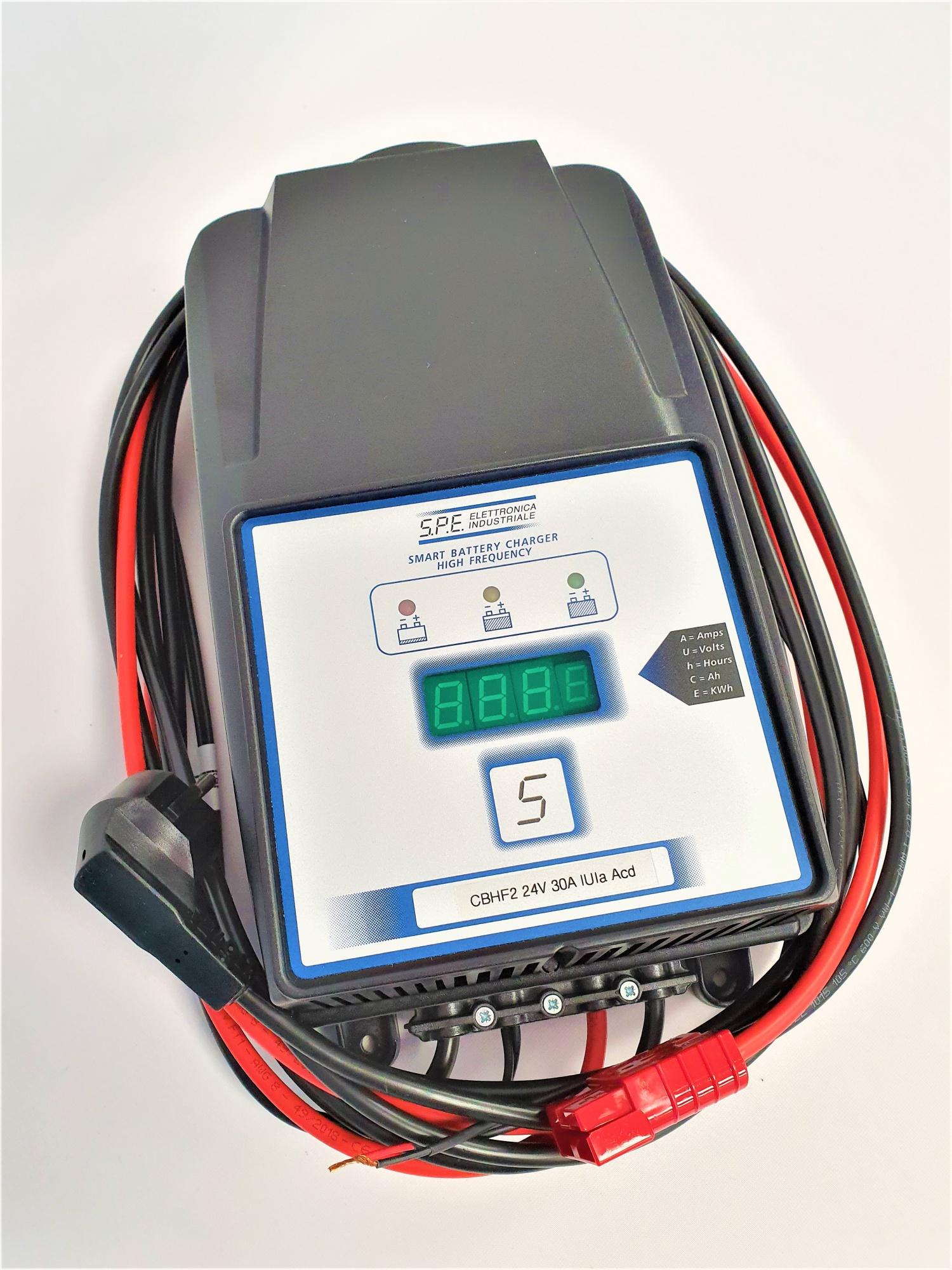 Chargeur batterie HF pour Autolaveuse TENNANT T5 / 60