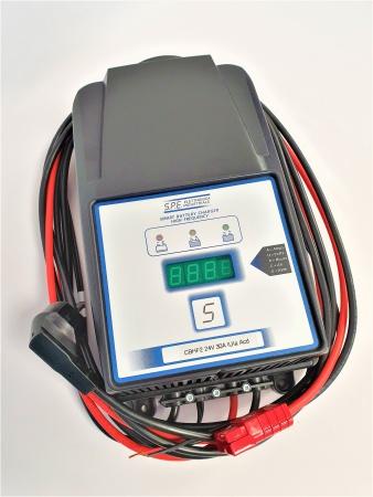 Chargeur batterie HF pour Autolaveuse TENNANT T5 / 70