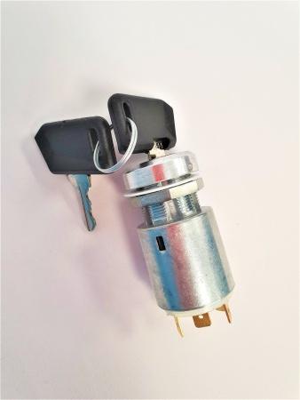 Contact à clé + 2 clés pour Autolaveuse TENNANT T12