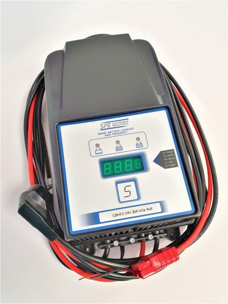 Chargeur batterie HF pour Autolaveuse TENNANT 5680 / 70