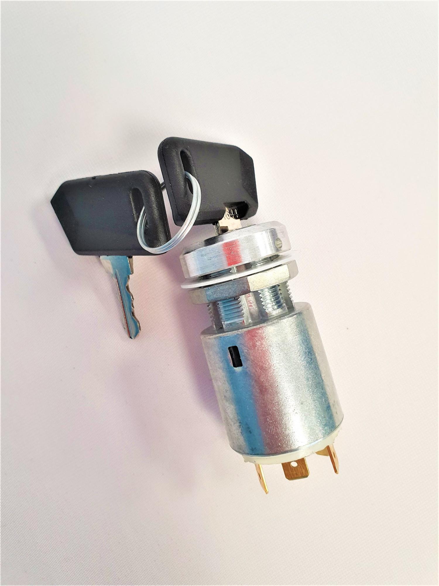 Contact à clé + 2 clés pour Autolaveuse TENNANT 7100 / 80