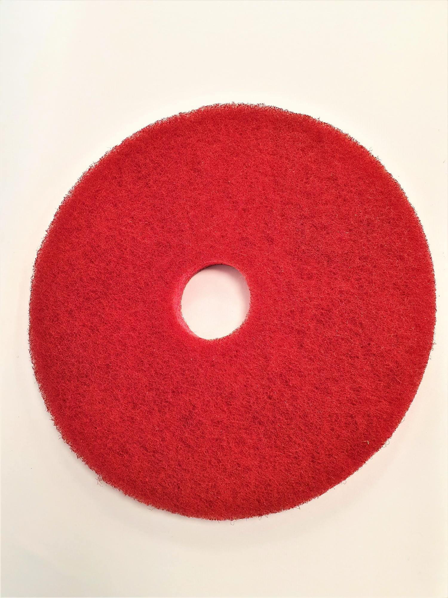 Disques rouges diamètre 406 mm pour Autolaveuse TENNANT 7100 / 80
