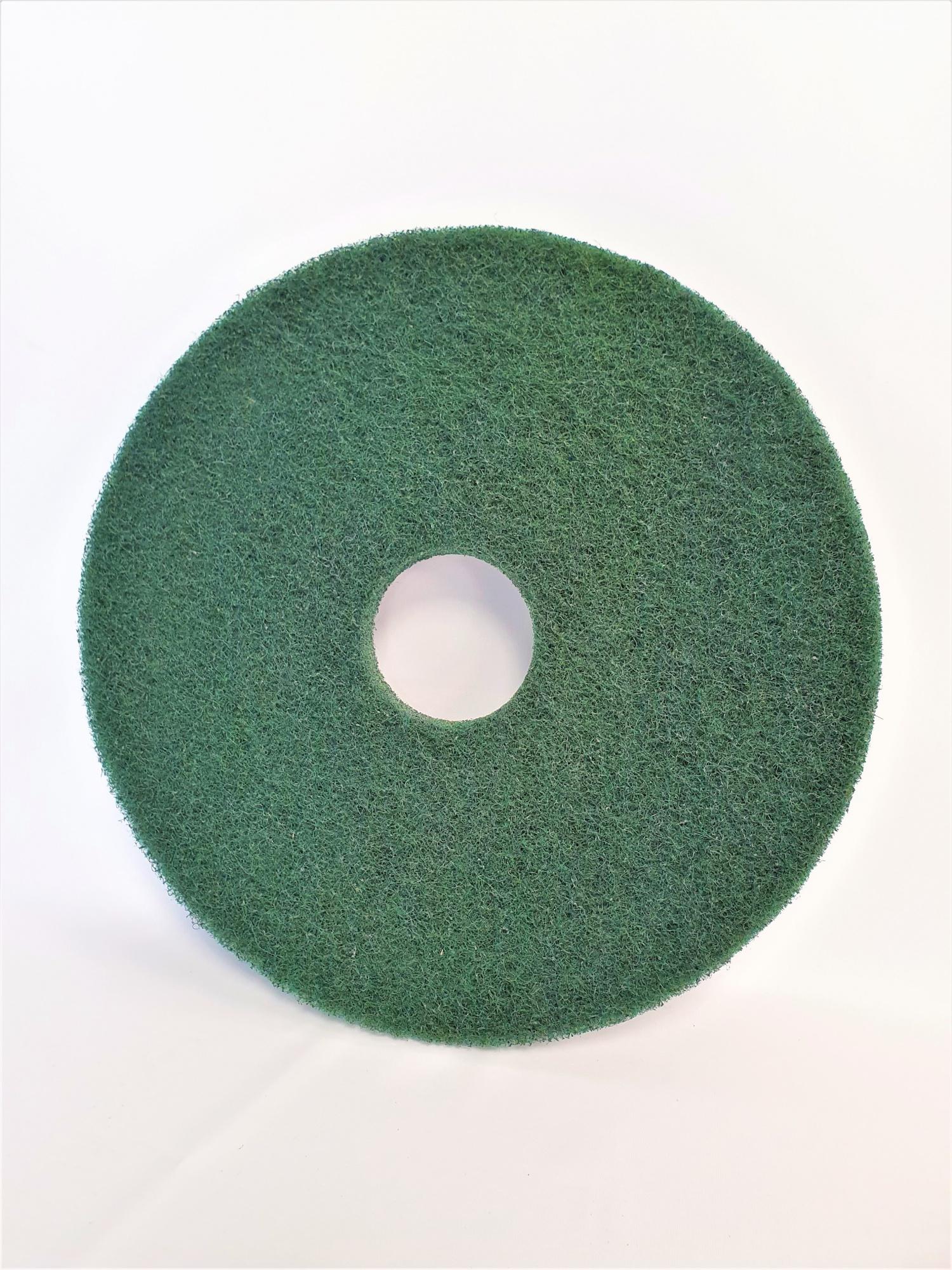 Disques verts diamètre 406 mm pour Autolaveuse TENNANT 7100 / 80