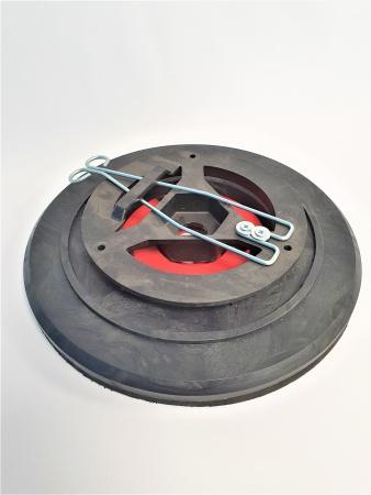 Plateau porte disque diamètre 310 pour Autolaveuse RCM BYTE II 612