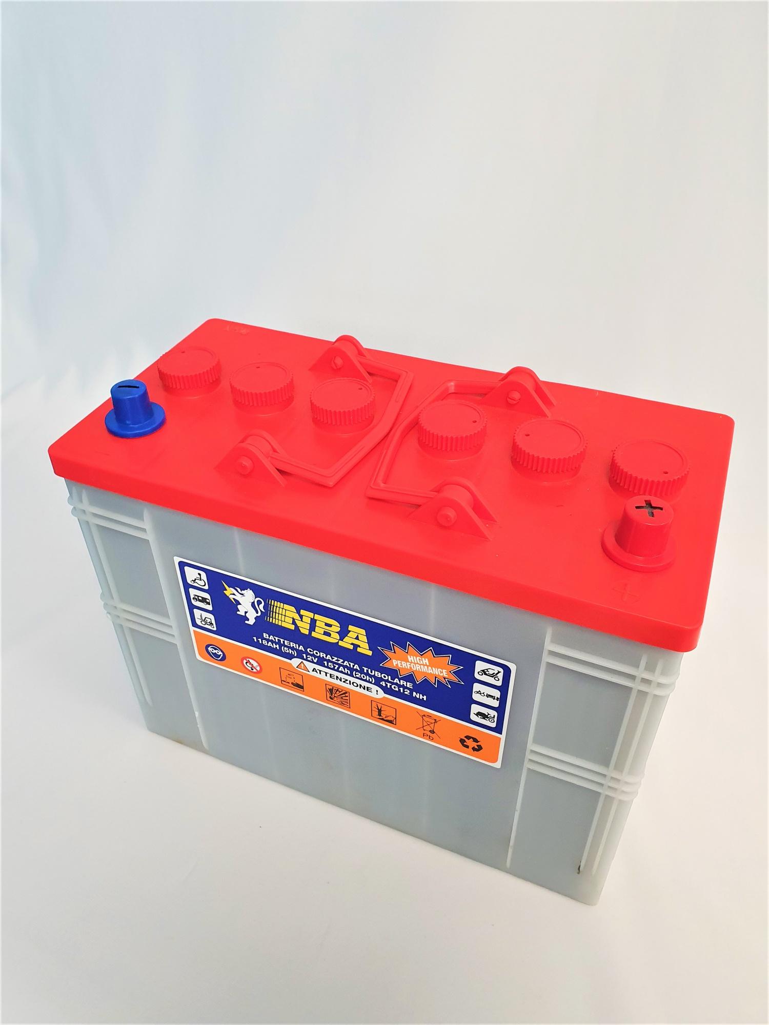 Batterie 12V 118 AH (C5) pour Autolaveuse RCM BYTE II 612