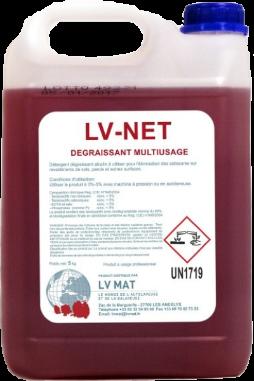 Produit nettoyant dégraissant multi-usage LV NET