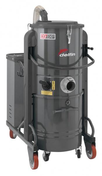 Aspirateur industriel DELFIN triphasé DG70 EXP
