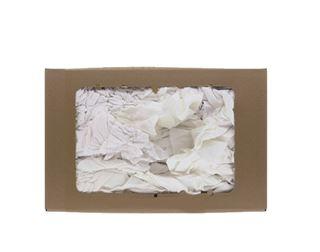Chiffons draps blancs